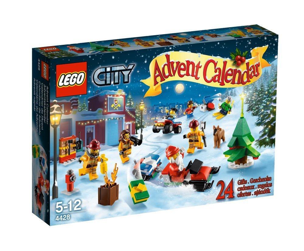 lego city advent calendar - christmas giveaway