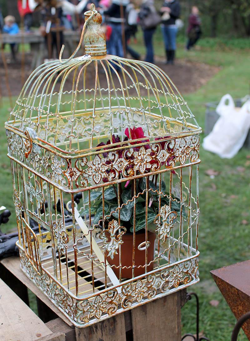 vintage birdcage christmas fair